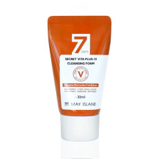 Очищающая пенка с витаминами May Island 7 days Secret Vita Plus -10 Cleansing Foam