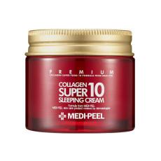 Омолаживающий ночной крем для лица с коллагеном Medi-Peel Collagen Super 10 Sleeping Cream