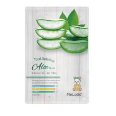 Маска тканевая на основе алоэ Meloso Total Solution Mask Aloe