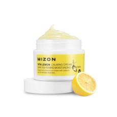 Крем для уставшей кожи с лимоном Mizon Vita Lemon Calming Cream