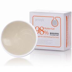 Гидрогелевые патчи с коллагеном и коэнзим Q10 Petitfee 98% Hydrogel Collagen & Q10 Eye Patch