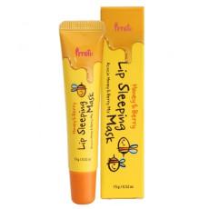 Бальзам маска для губ питательный с медом и экстрактом ягод Prreti Honey & Berry Lip Sleeping Mask