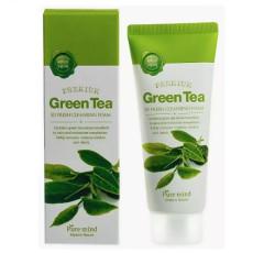 Пенка для умывания с зеленым чаем Pure Mind So Fresh Cleansing Foam - Green Tea