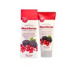Пенка для умывания с ягодами Pure Mind So Fresh Cleansing Foam - Mixed Berries