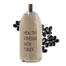 Уксусный тонер для лица с ферментированным экстрактом черных соевых бобов Realskin Healthy vinegar skin toner - Black bean