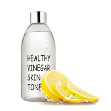 Уксусный тонер для лица на основе ферментированного экстракта лимона Realskin Healthy vinegar skin toner - Lemon