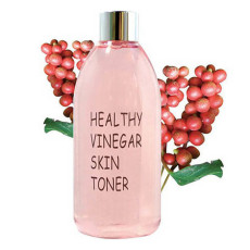 Уксусный тонер для лица с ферментированным экстрактом ягод лимонника Realskin Healthy vinegar skin toner - Omija