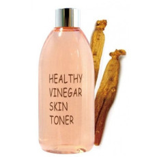 Уксусный тонер для лица на основе ферментированного красного женьшеня Realskin Healthy vinegar skin toner - Red ginseng