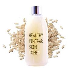 Уксусный тонер для лица на основе экстракта бурого риса Realskin Healthy vinegar skin toner - Rice