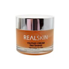 Крем для лица с красным женьшенем Realskin Youth 21 Cream Red Ginseng