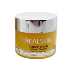 Крем для лица с витаминным коктейлем Realskin Youth 21 Cream - Vitamin Cocktail