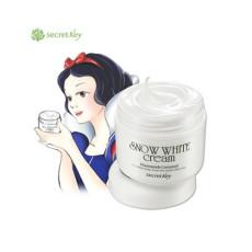 Крем для лица увлажняющий, отбеливающий Secret Key Snow White Cream