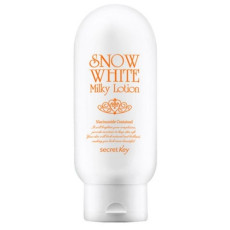 Отбеливающий лосьон для лица и тела Secret Key Snow White Milky Lotion