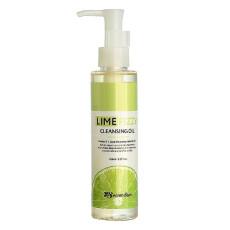 Гидрофильное масло с экстрактом лайма Secret Skin Lime Fizzy Cleansing Oil