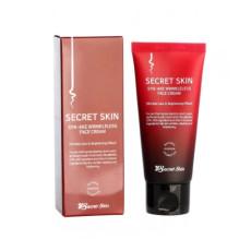 Крем для лица с пептидом яда змеи Secret Skin Syn-ake Wrinkleless Face Cream