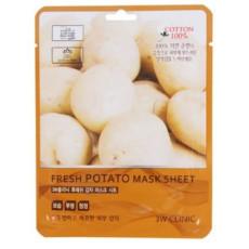 Маска листовая увлажняющая и питающая с картофелем 3W Clinic Fresh Potato Mask Sheet