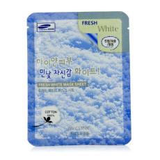 Маска листовая осветляющая 3W Clinic Fresh White Mask Sheet