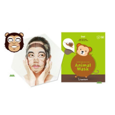 Маска тканевая с улиткой обезьянка Berrisom Animal Mask - Monkey