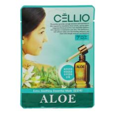 Тканевая маска с алое Cellio Extra Soothing Essential Mask Aloe
