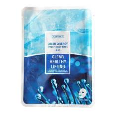 Маска тканевая морской коллаген Deoproce Color Synergy Effect Sheet Mask Blue