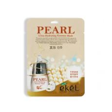 Маска тканевая жемчуг Ekel Ultra Hydrating Essence Mask Pearl