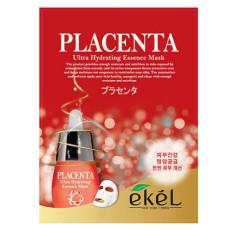 Маска тканевая плацента Ekel Ultra Hydrating Essence Mask Placenta
