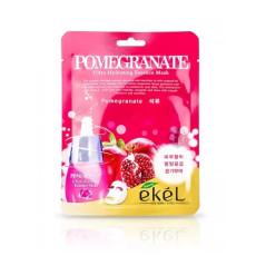 Маска тканевая гранат Ekel Ultra Hydrating Essence Mask Pomegranate