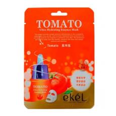 Маска тканевая томат Ekel Ultra Hydrating Essence Mask Tomato