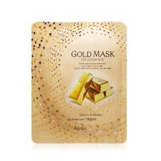Маска тканевая золото Esfolio Gold Essence Mask