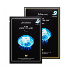 Ультратонкая тканевая маска с экстрактом медузы JMSolution Active Jellyfish Vital Mask