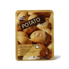 Тканевая маска с картофелем May Island Real Essence Potato Mask Pack
