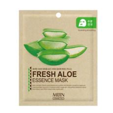 Маска для лица тканевая алое MJ Care Mijin Cosmetics Fresh Aloe Essence Mask