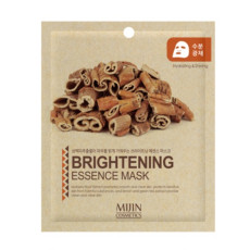 Маска для лица тканевая осветляющая MJ Care Mijin Cosmetics Brightening Essence Mask