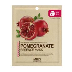 Маска для лица тканевая гранат MJ Care Mijin Cosmetics Pomegranate Essence Mask