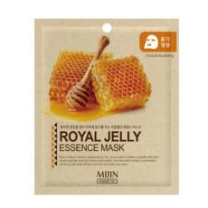 Маска для лица тканевая маточное молочко MJ Care Mijin Cosmetics Royal Jelly Essence Mask