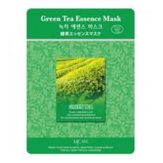 Маска тканевая зеленый чай MJ Care Green Tea Essence Mask