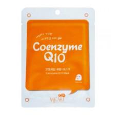 Маска тканевая c коэнзимом Q10 MJ Care MJ on Coenzyme Q10 mask pack