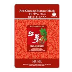 Маска тканевая красный женьшень MJ Care Red Ginseng Essence Mask