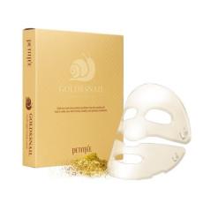 Гидрогелевая маска для лица улитка+золото Petitfee Gold & Snail Hydrogel Mask Pack