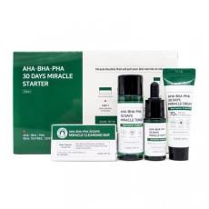 Набор для проблемной кожи с кислотами Some By Mi - AHA-BHA-PHA 30 Days Miracle Starter Kit