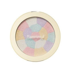 Минеральный хайлайтер The Saem Saemmul Luminous Multi Highlighter 01. Pink White