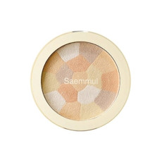 Минеральный хайлайтер The Saem Saemmul Luminous Multi Highlighter 02. Gold Beige