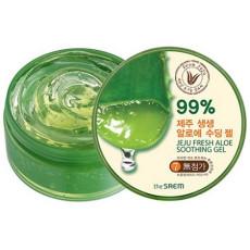 Гель с алоэ универсальный увлажняющий 99% The Saem Jeju Fresh Aloe Soothing Gel