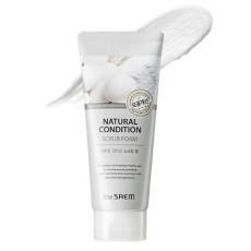 Пенка-скраб для лица The Saem Natural Condition Scrub Foam