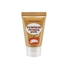 Увлажняющая ночная маска с экстрактом тыквы Too Cool For School Pumpkin Sleeping Pack