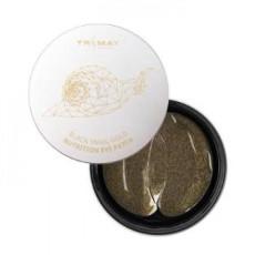 Питательные гидрогелевые патчи с муцином чёрной улитки Trimay Black Snail Gold Nutrition Eye Patch