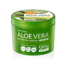 Гель алое 98% Welcos Aloe vera Moisture Real Soothing Gel
