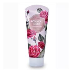 Пенка с розовой водой Welcos Botanical Moist Cleansing Foam Pure Rose