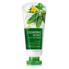 Пенка с огурцом Welcos Cleansing Story Deep Cleansing Foam - Cucumber