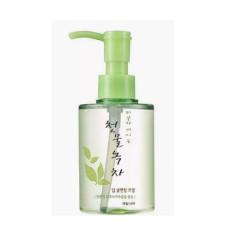 Гидрофильное масло с зеленым чаем Welcos Green Tea Deep Cleansing Oil